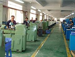 江西某机械厂缠绕膜使用现场